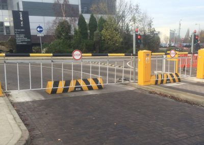 Jay-Tech Engineering security gate installation