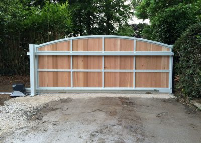 Jay-Tech Engineering Domestic electric sliding gate