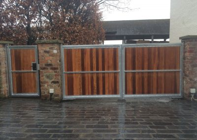 Jay-Tech Engineering electric gate installation